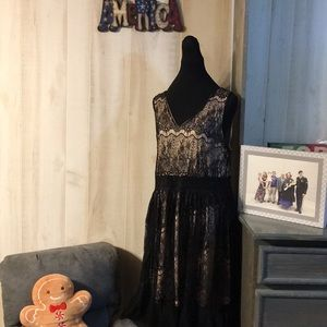 EUC Forever 21 Lined Lace Dress Size 2X